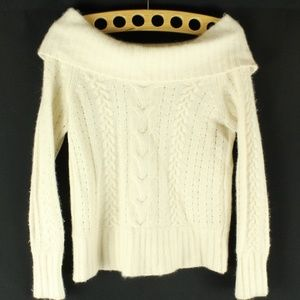 Banana Republic Knit Sweater Angora Rabbit Hair S