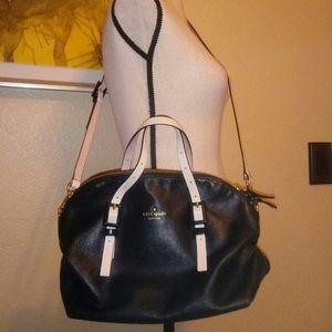 Kate spade black leather purse