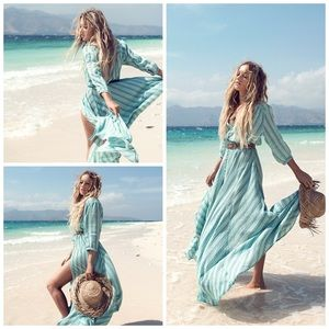 Spell & the Gypsy Collective Island Boho Gown, S