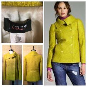 J. Crew Boucle mohair Lucille jacket Blazer Sz 4