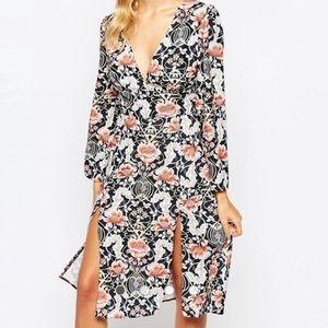 Women's ASOS Love V don't midi dress size 6