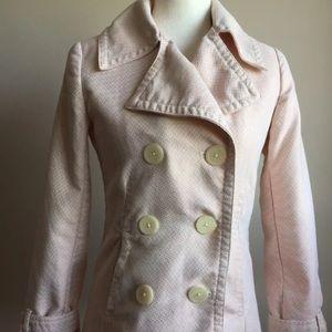 Merona Double Breasted Lined Pea Coat Small