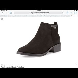 New Tory Burch Lexi Ankle Boots Suede leather
