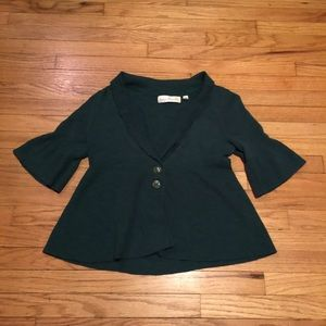 Anthropologie Charlie & Robin green sweater - M