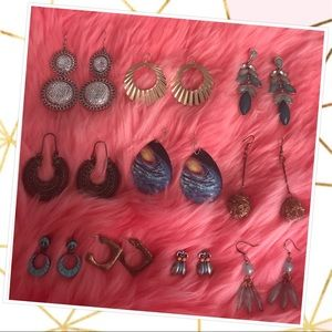 Assortment of earrings - $5ea, $7 for two