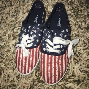 Textile upper & lining shoe