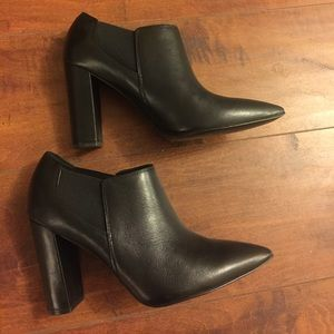 Marc Fisher leather booties