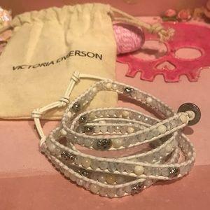 Victoria Emerson Skull Wrap Bracelet