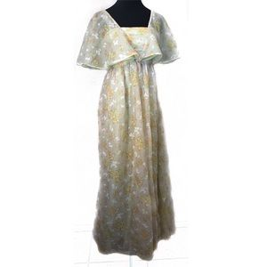 Gorgeous 70's fairy girl dress gown