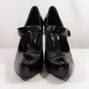 Gianni Bini Patent Mary Jane Heels