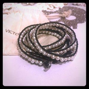 Victoria Emerson Freshwater Pearl Wrap Bracelet
