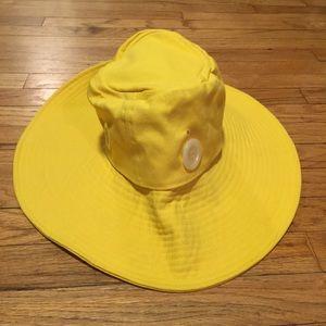 Kate Spade yellow sun hat