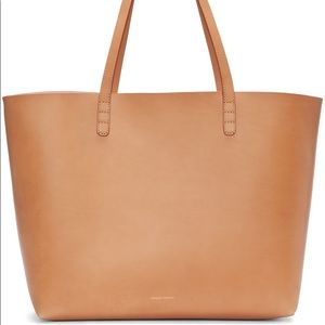 Inspired MG Small Tote in Cammello/Rosa