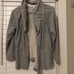 Cute gray Banana Republic cardigan.