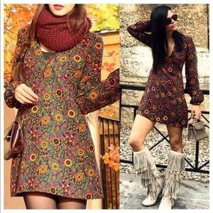 Zara Beautiful Floral Print Dress
