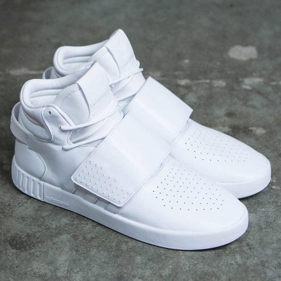 9b065418334 adidas Other - NEW Adidas Tubular Invader Strap All White