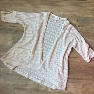 UO Pins and Needles Open Knit Cardigan