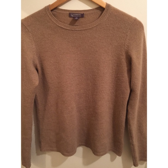77% off Charter Club Sweaters - Camel Colored Cashmere Sweater ...