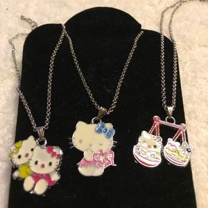 Other - Hello Kitty Necklace set Of Three