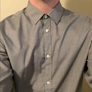H&M Medium Button Up Men's Dress Shirt M Top