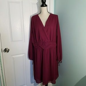 Nwt Burgundy Dress