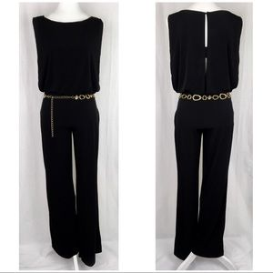 NWOT Valerie Bertinelli Black Pant Jumpsuit