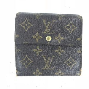 Louis Vuitton Monogram Trifold Wallet *RARE*