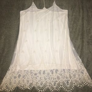 Aeropostale NYC -Lace Crochet Dress - Sz. Large