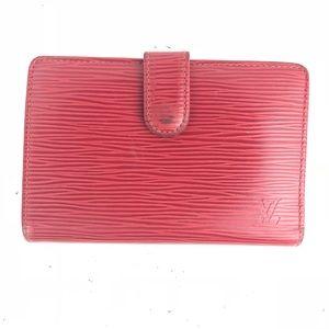 Louis Vuitton Epi French Lock Wallet