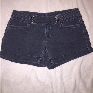 [White House Black Market] Jean Shorts