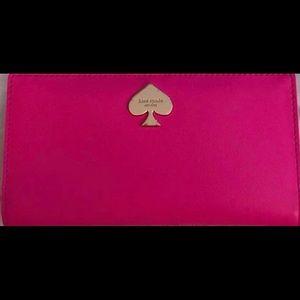 Hot Pink Kate Spade Wallet