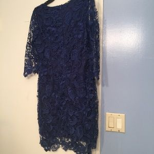 Beautiful blue lace dress