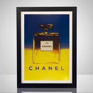 Chanel No 5 Andy Warhol 11x17 Poster Print Art