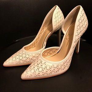 Gorgeous Off-White Heels