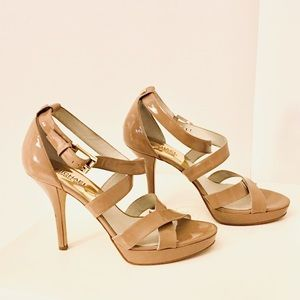 Michael Kors Strappy Nude Sandals