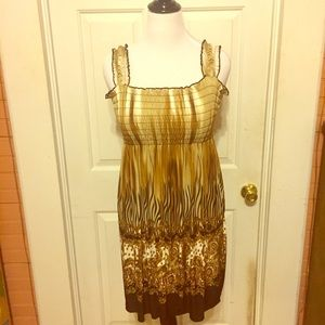 Animal Print Stretchy Sundress Size L/XL