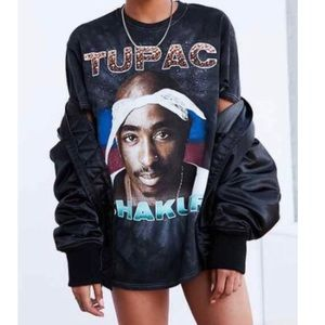 Tupac Shakur T-Shirt Small