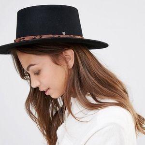 Brixton Bridger Stiff Brim Wool Felt Hat