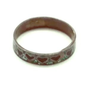 Sterling Silver Mexican Turquoise Onyx Inlay Ring
