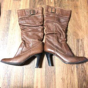 Matisse Kasha pull-on brown leather boots with 9