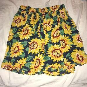 Sunflower Brandy Melville Skirt