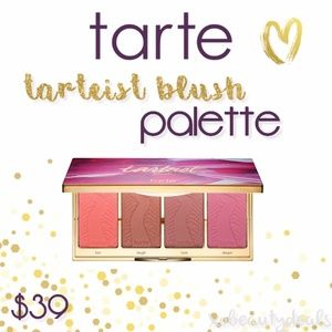 ** LIMITED EDITION Tarte Tarteist Blush Palette **