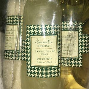 Green Tea & Pear Gift Set