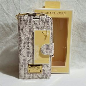 Mk case/wallet note 5 beige