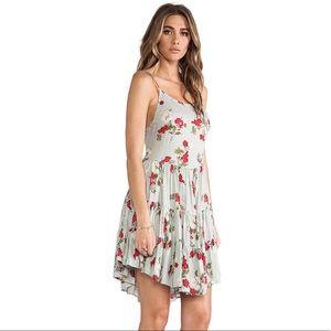Intimately Free People circle of flower slip dress