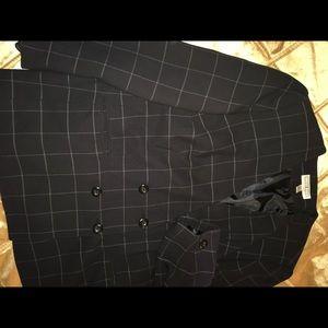 Dark navy jacket double breast style