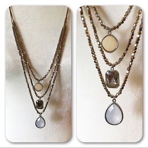Lane Bryant 3 Tier Necklace