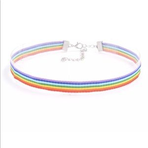 Rainbow Chocker Necklace!