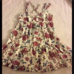 Flows Floral Dress