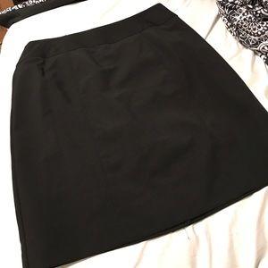Black pencil skirt/ high waist, and short